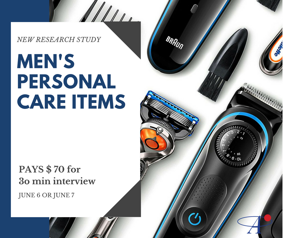 PAYS $75 for 30 min interview at Minneapolis Store. New research study for Men ages 18-44 about personal care products. Takes place June 6 or June 7