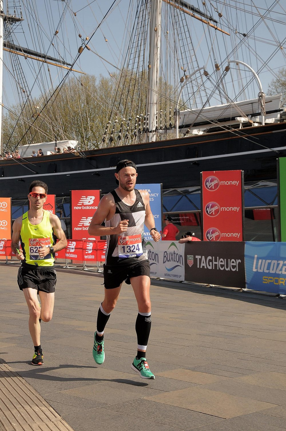 Cutty Sark and 10k in 34:52