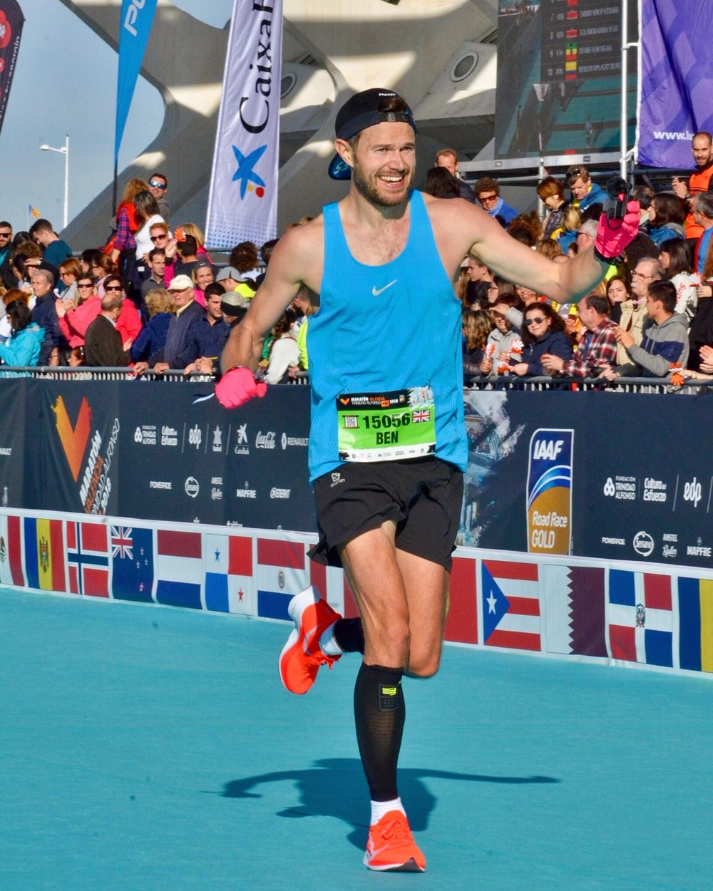 2:25 at the Valencia Marathon.. what an incredible day!