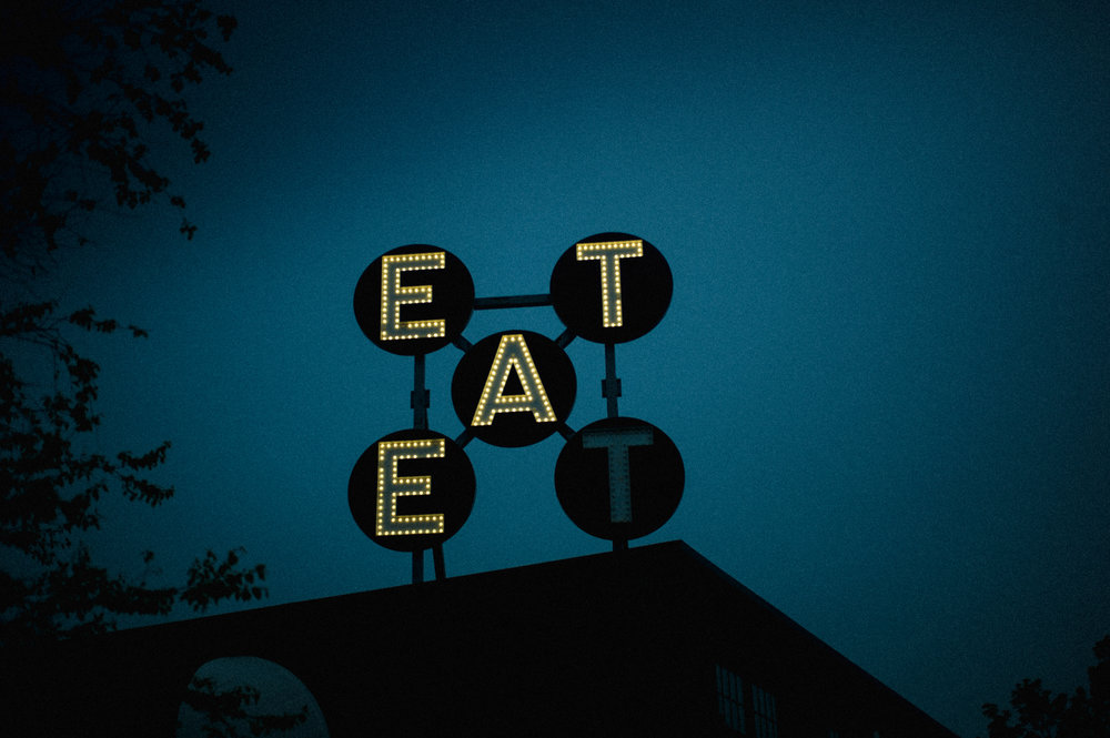 Eat In Neon Lights    Limited edition prints  available.