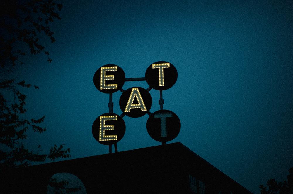 Eat in Neon Lights