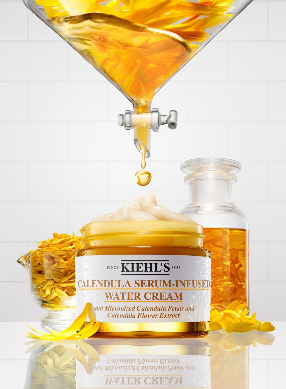 �ล�าร���หารู��า�สำหรั� kiehl's calendula serum infused water cream