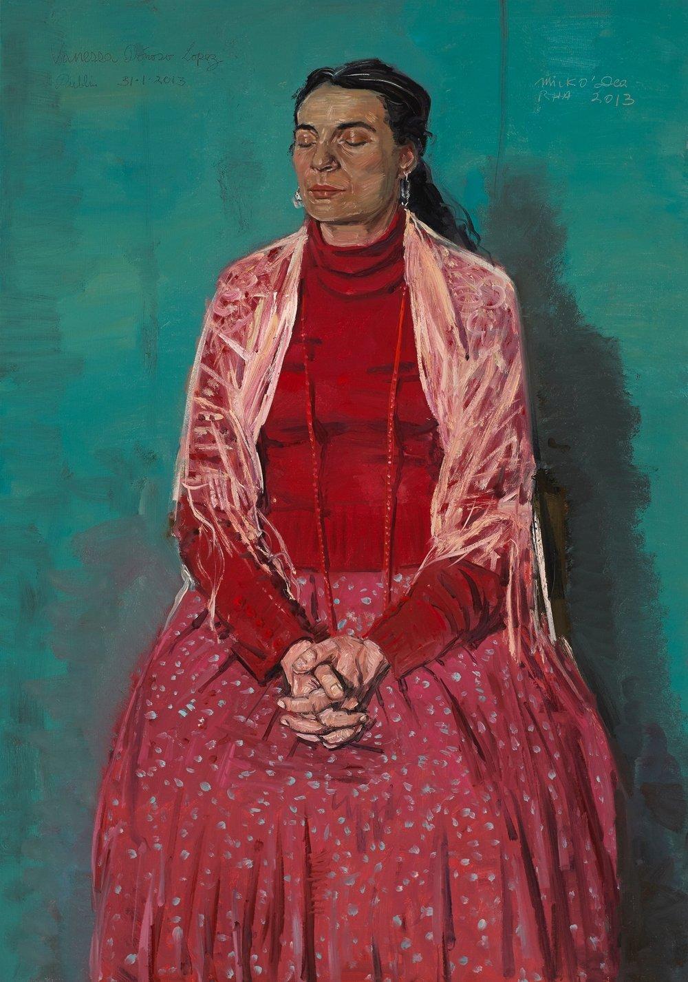 Vanessa Donoso Lopez, Oil on Canvas