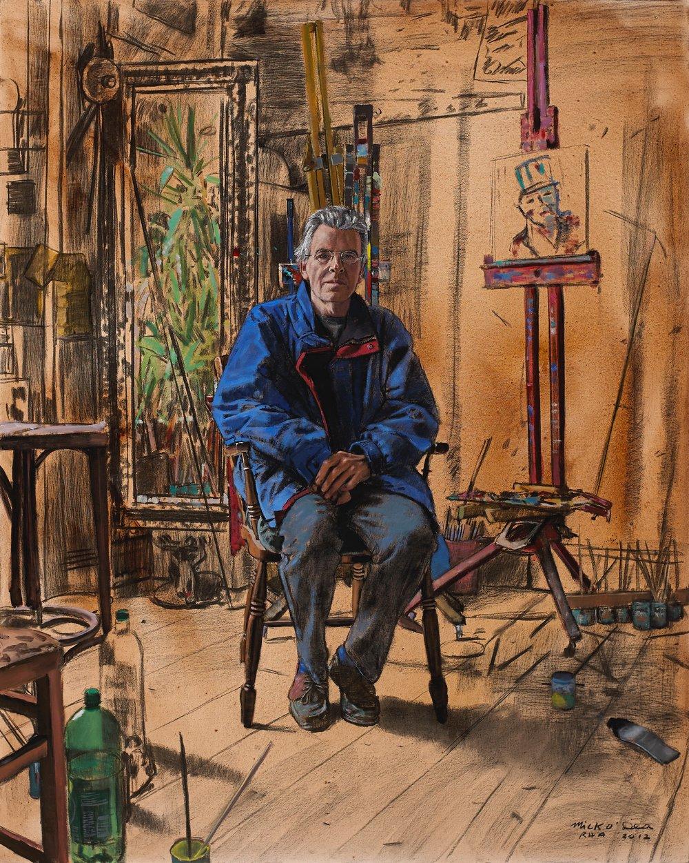 Mick Cullen, Acrylic on Canvas
