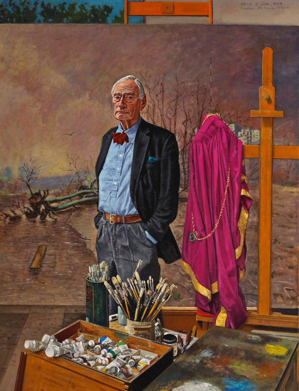 Stephen McKenna PPRHA, Oil on Canvas