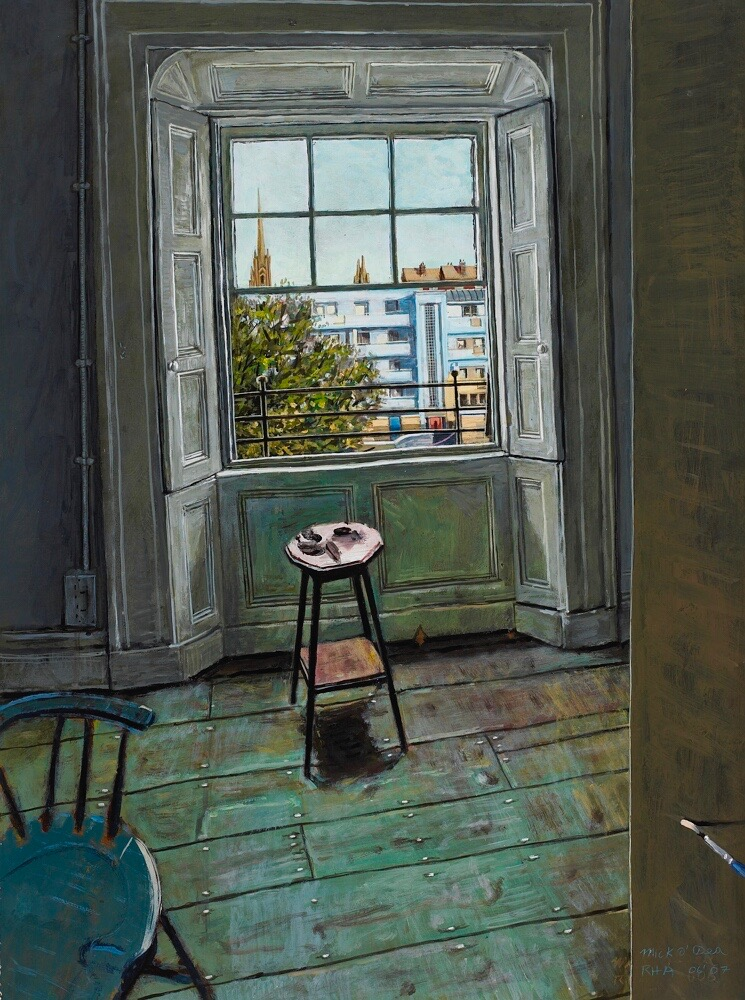 From an Upper Floor Window