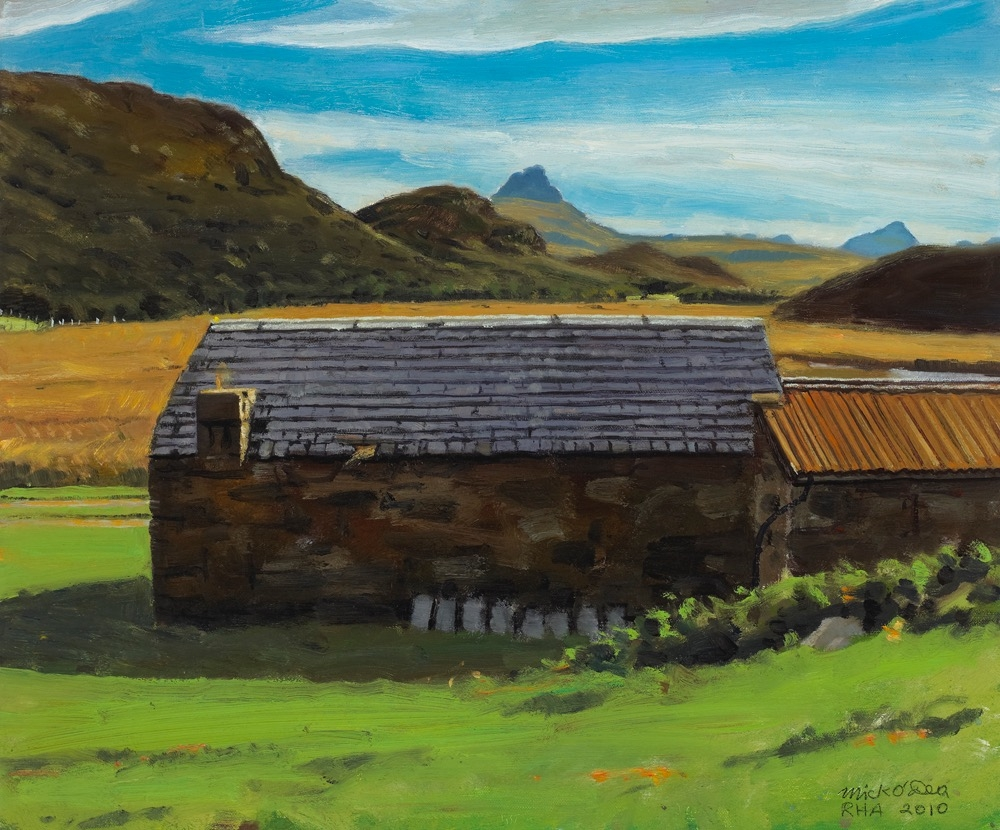 'Old Croft' Inverpolly, Scotland, Oil on Canvas