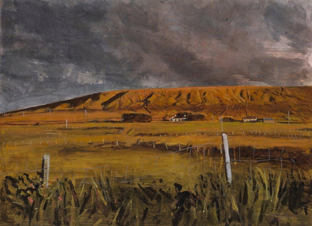 'The Hill' Acrylic