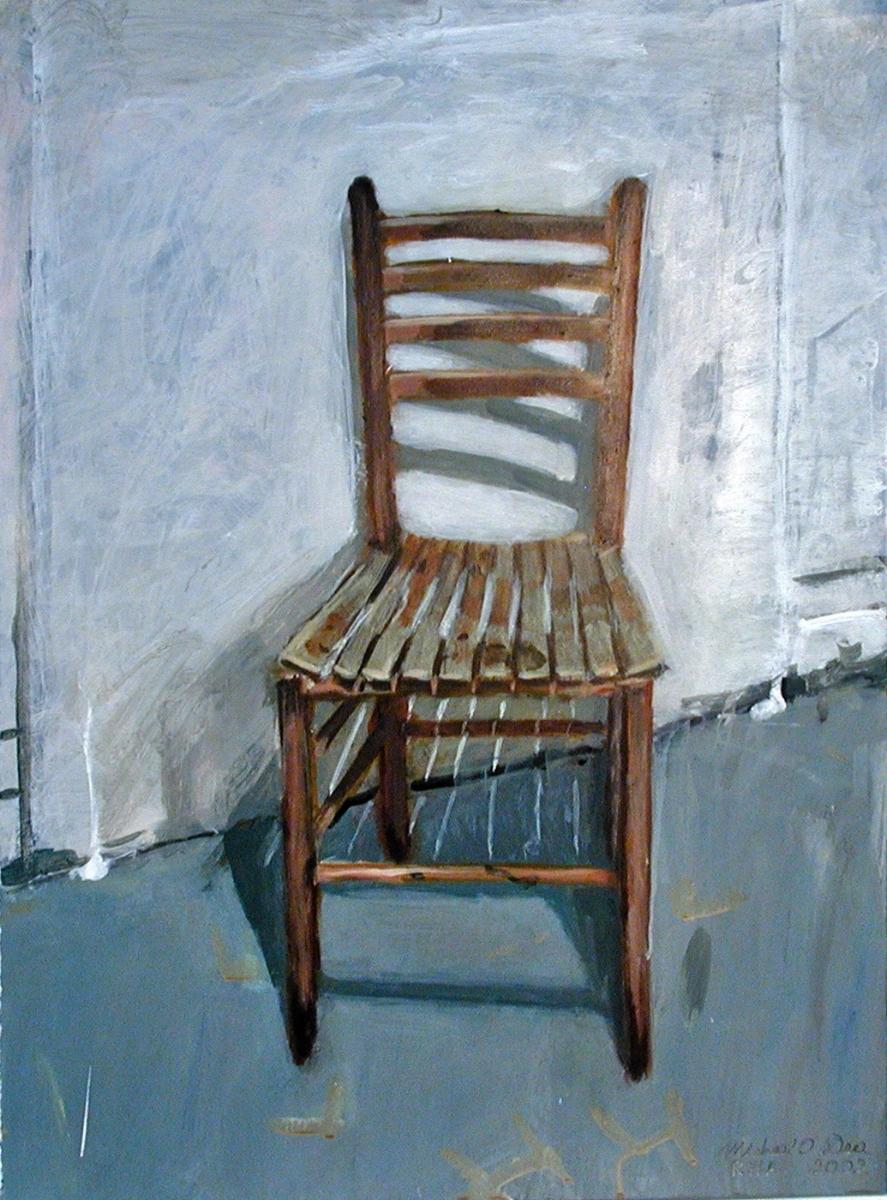 'New England Chair' Acrylic