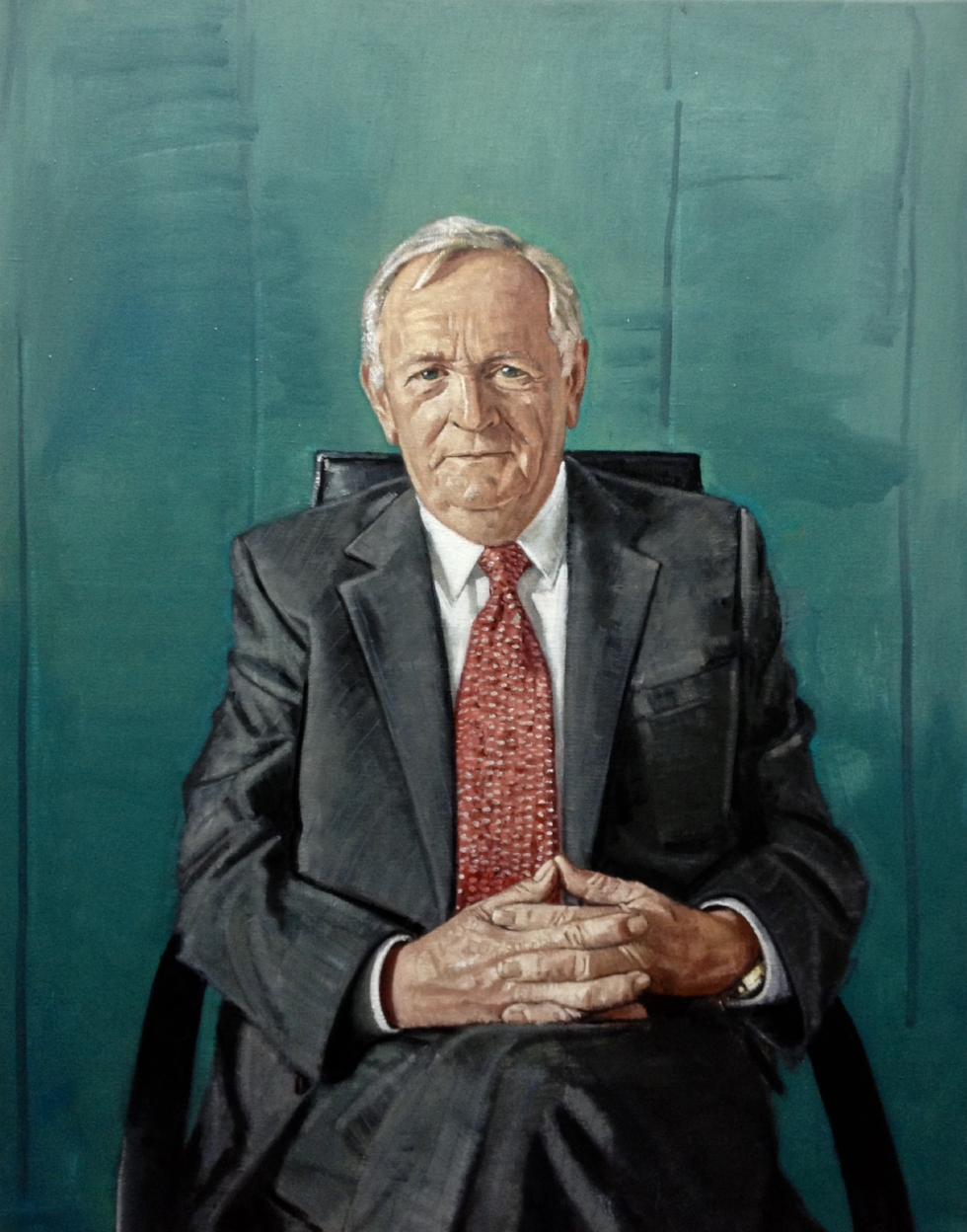 George Sisk, Oil on Canvas