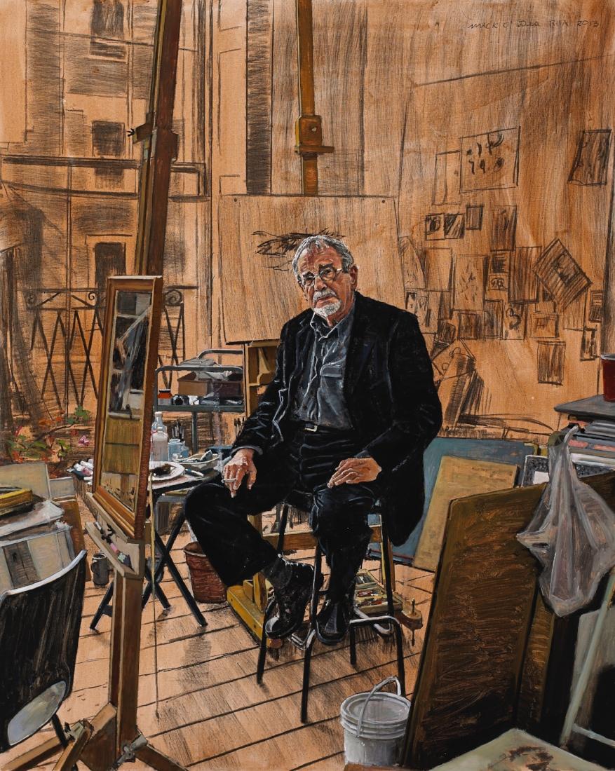 Charlie Cullen,Acrylic on Canvas
