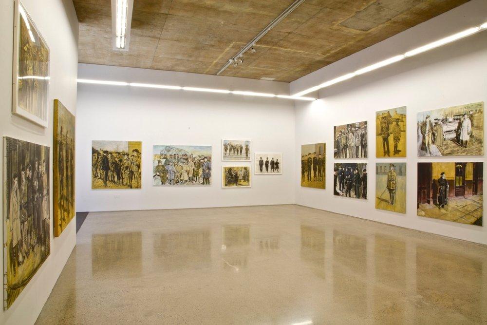 Black and Tan Installation Shot at Kevin Kavanagh Gallery, 2010