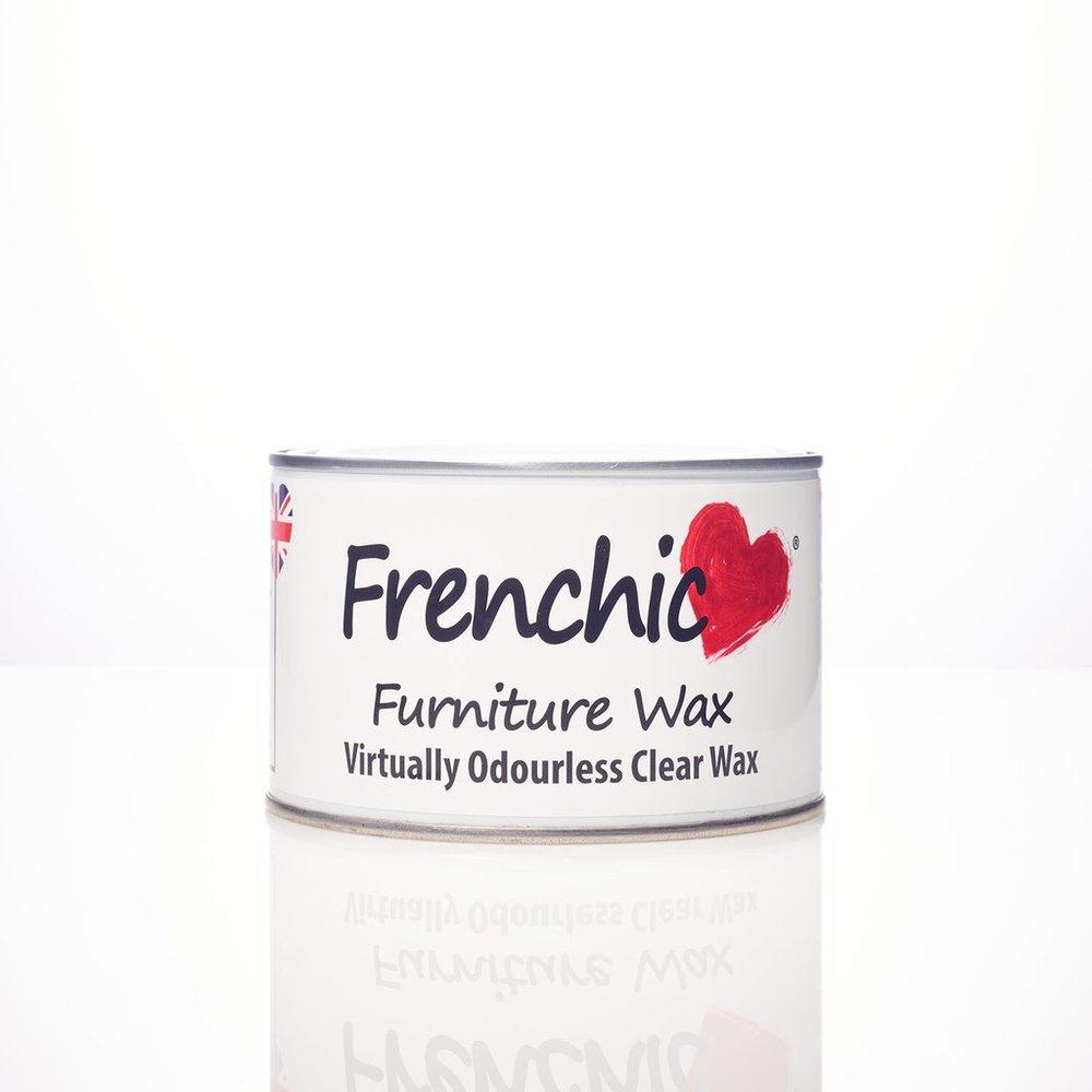 Frenchic vahat ovat myrkyttömiä. Saatavana värillisinä tai kirkkaana. Uutuus: Harmaa viimeistelyvaha.   Tiesitkö, että Frenchic Paint-vahat ovat mehiläisvahaa!  400ml