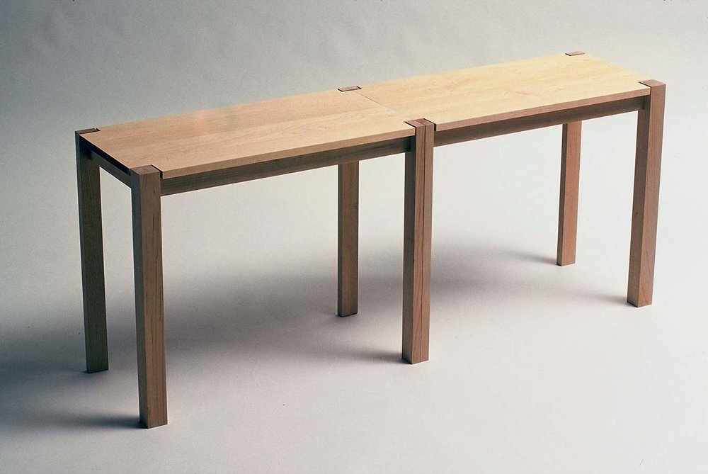Table Bench - versatile table bench is ideal for small living spaces