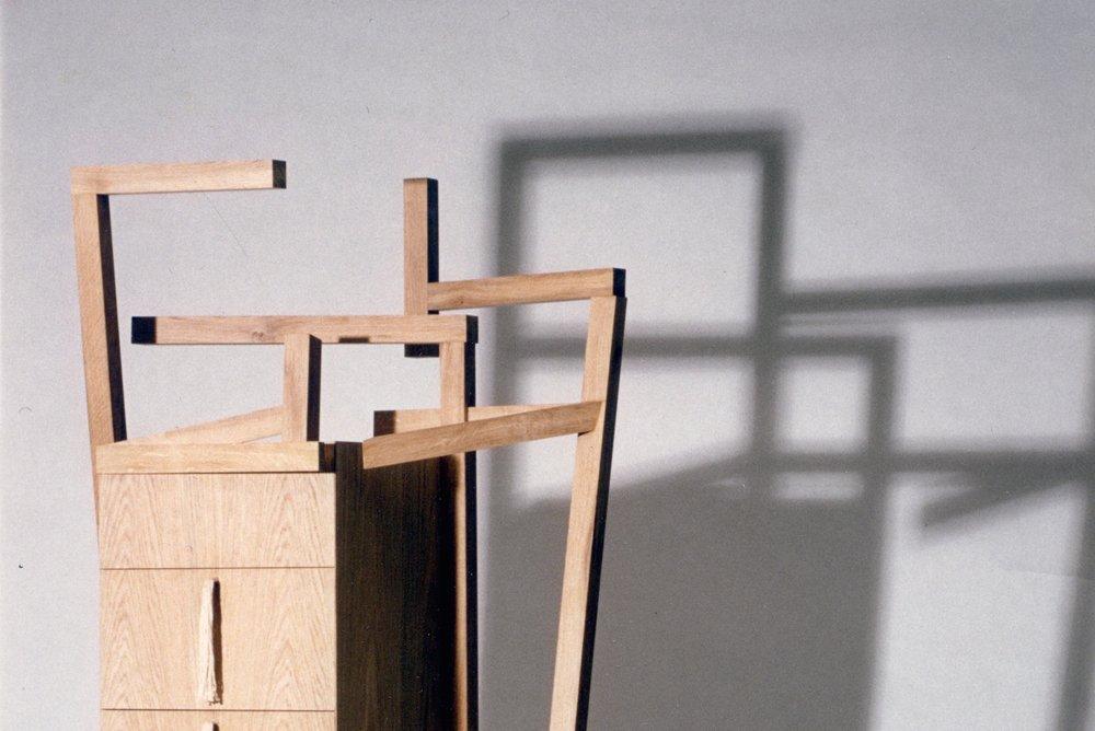 Bedroom Cabinet - de-constructing the bedroom chair