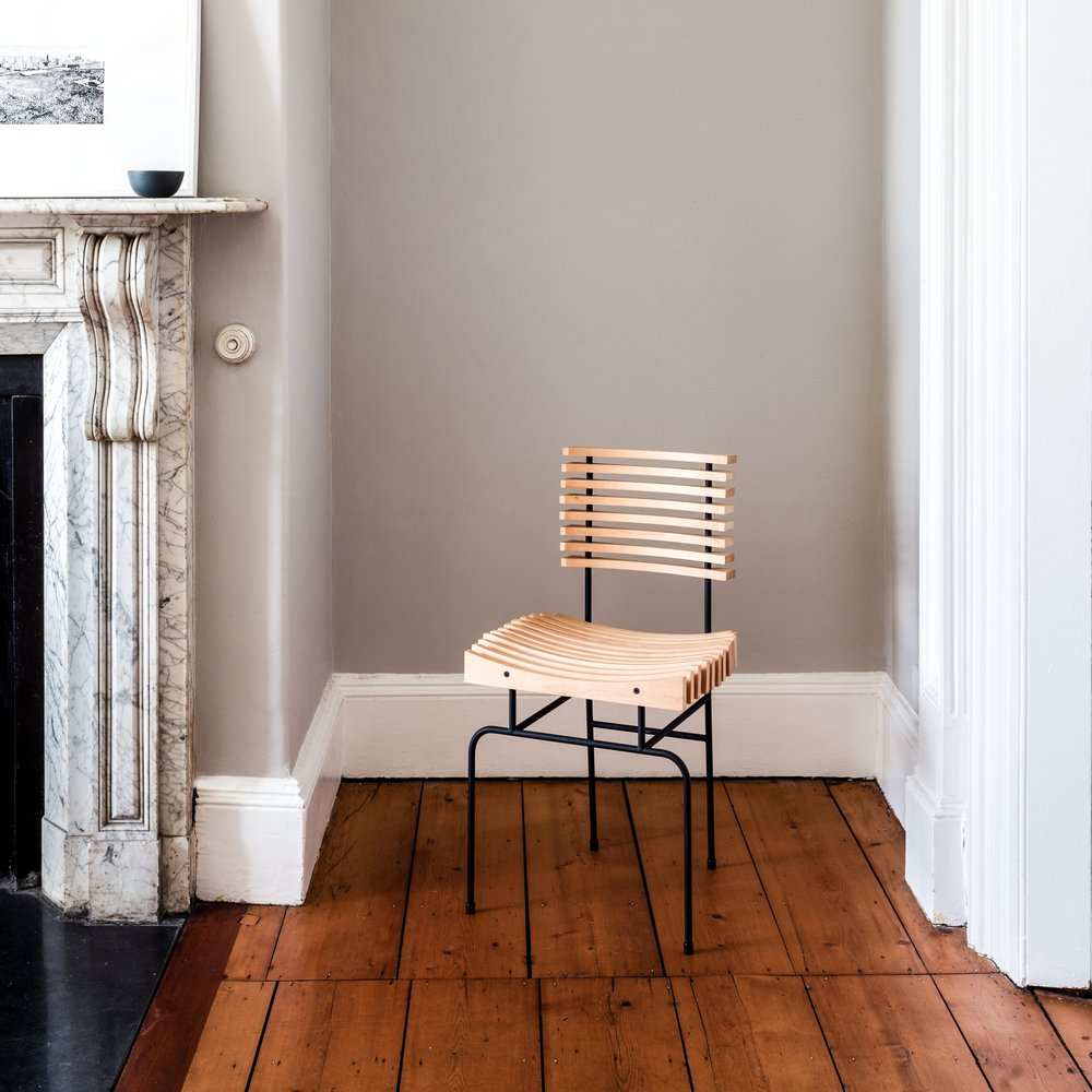 Slatted Chair - comfortable, elegant home or restaurant dining