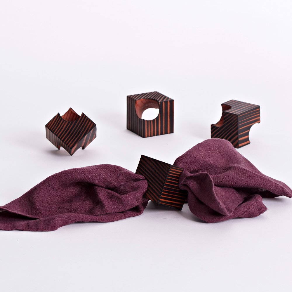Details - Dimensions: 5cm cubePrice for set of 4: €95