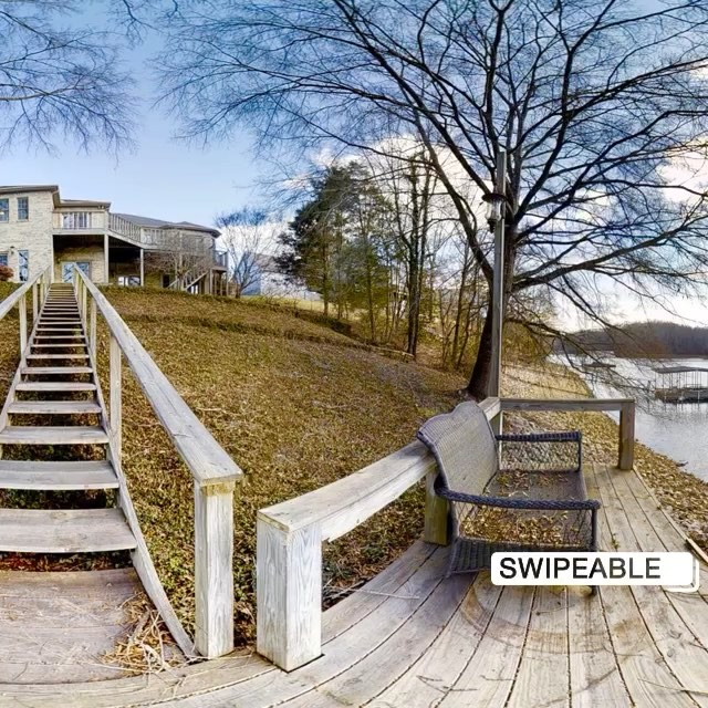 Got to shoot this amazing lake house at @timsfordlake this weekend for @betsyjarrett_realtor. View was so good had to share it with you...in 360 degrees! 😱 Go  ahead, take a look around! #winchestertn #timsfordlake #lakelife #forsale #360photography #lakehouse #huntsvillerealestate #winchesterrealestate
