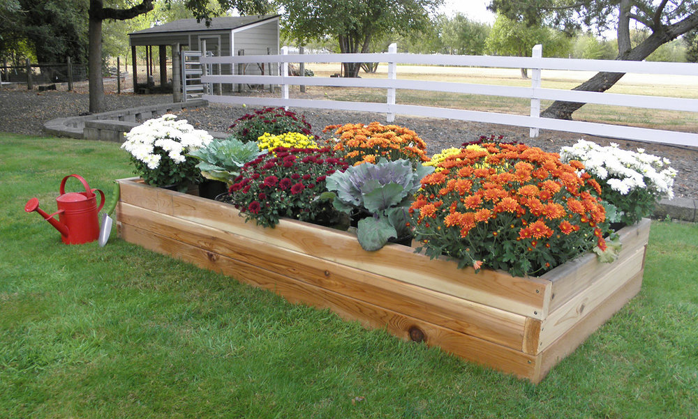 raised bed 3'x'6'
