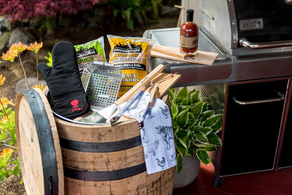 Real Wood - Lawn and Garden - Oak Barrels - Multi-Use Whiskey -B220 - Application (Grill 4).jpg