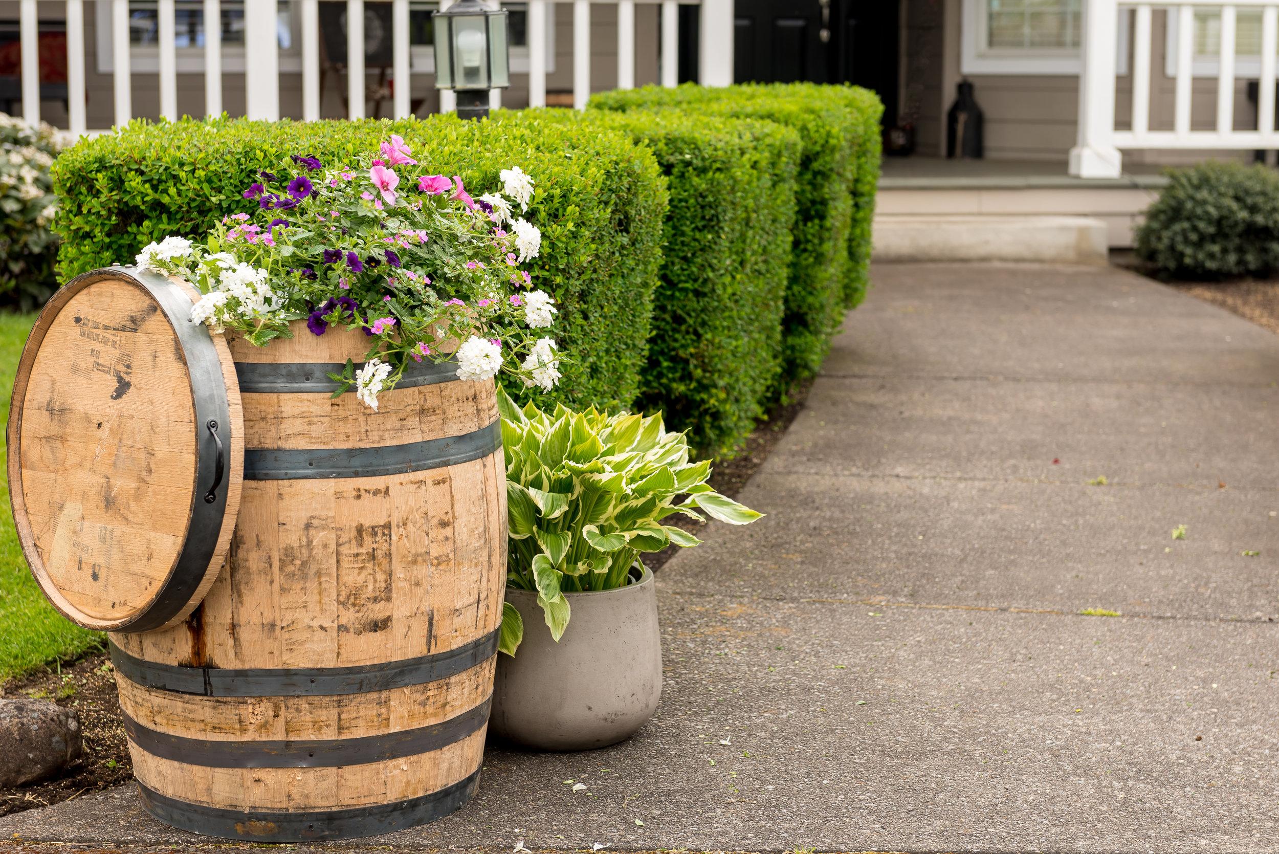 Oak Barrels Real Wood Products