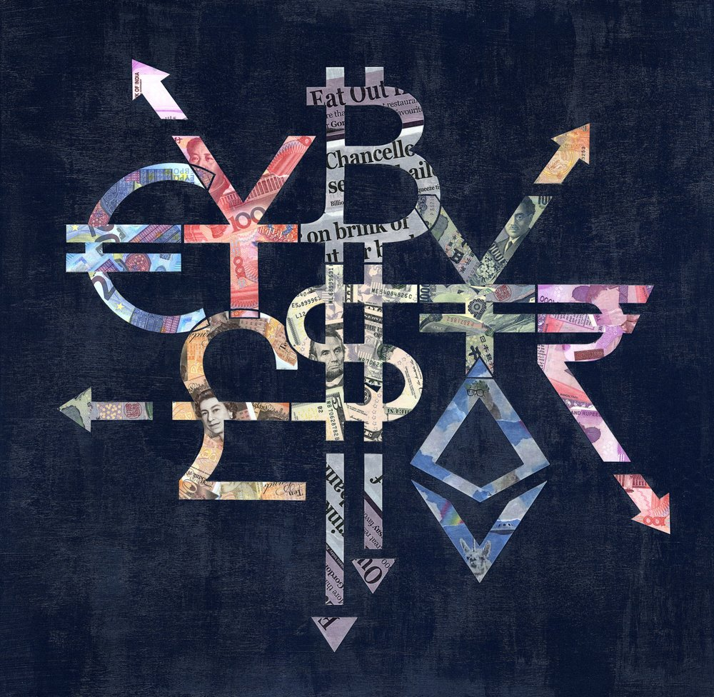 cryptograffiti,   Currency Exchange,    2018