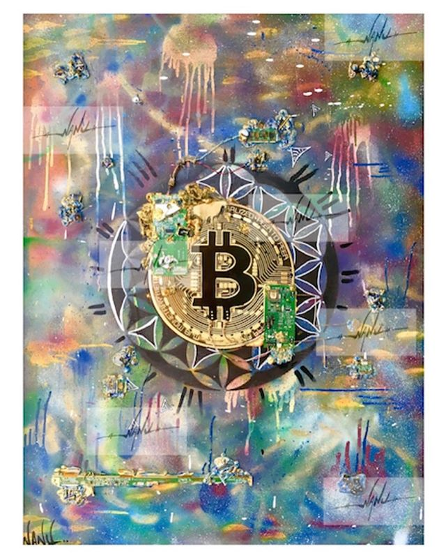 You've probably seen this image if you've been investigating the Blockchain and art space at all. One of our favorite female artists @NanuBerks is speaking and auctioning off some her iconic works for @hawctalk at the @WashingtonElite conference in DC this weekend! Thrilled you are using the @BLK_ART_ platform to authenticate your art and your talents for a great cause. 🙌🏼
