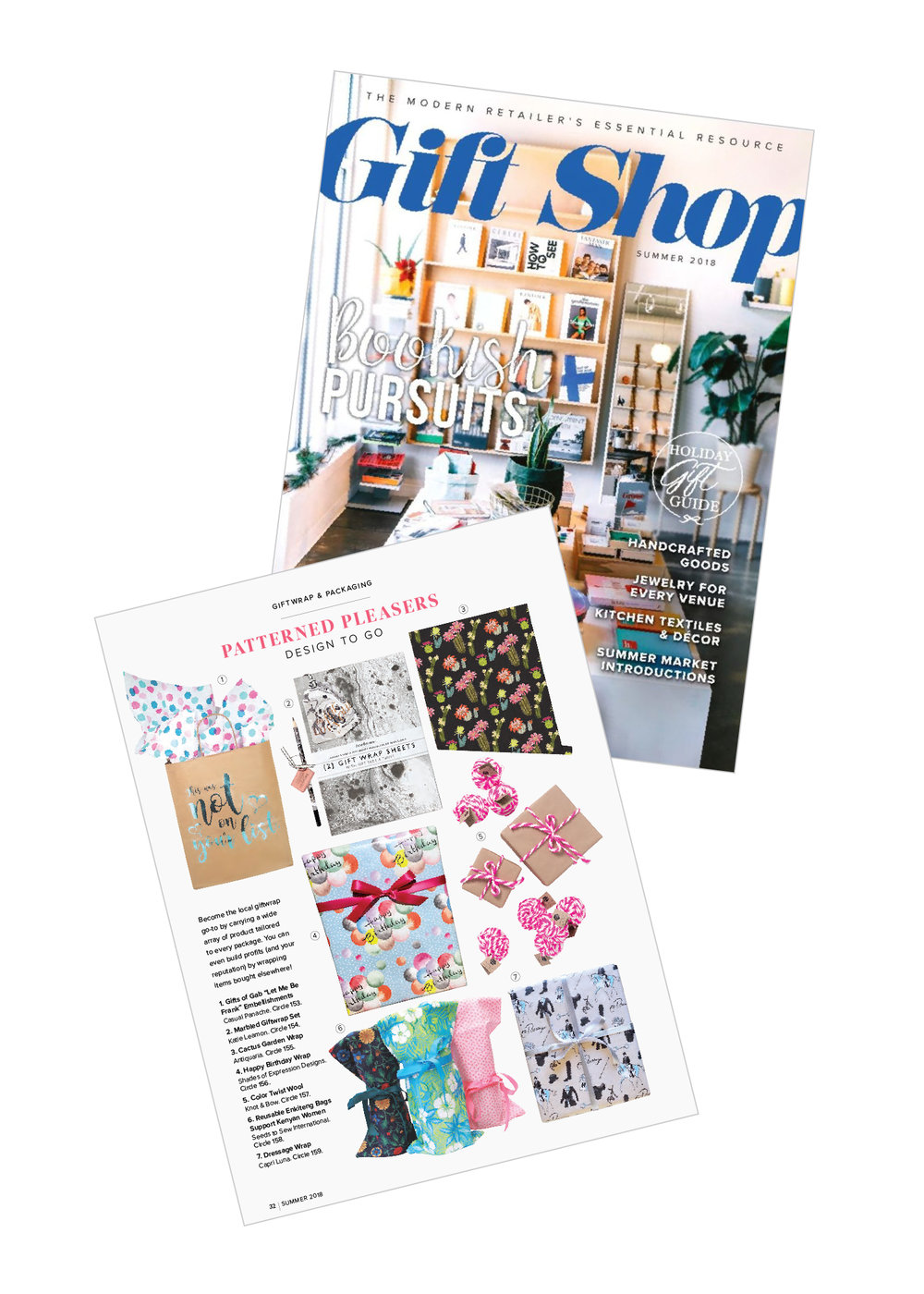 GOG is Featured in the 2018 Summer Gift Shop Magazine!
