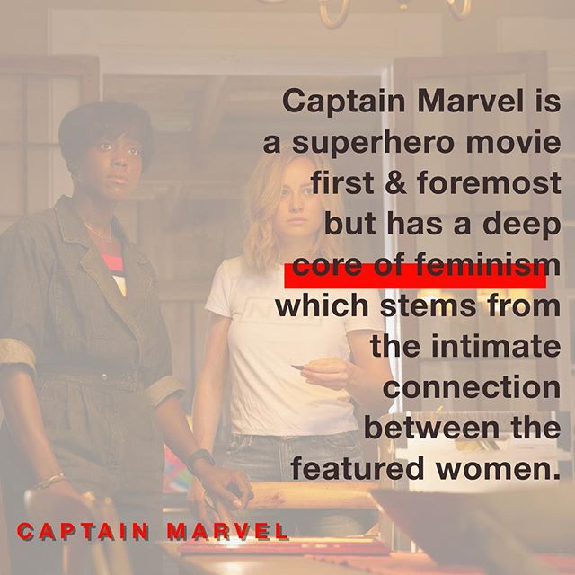 Reading other reviws made me worried I had oversold my feelings. But thinking back on other superhero movies I've seen, I feel secure in my opinion. I loved every second! Especially Lashana Lynch she was a 🌟 #CaptainMarvel 👉link in bio👈 as per usual