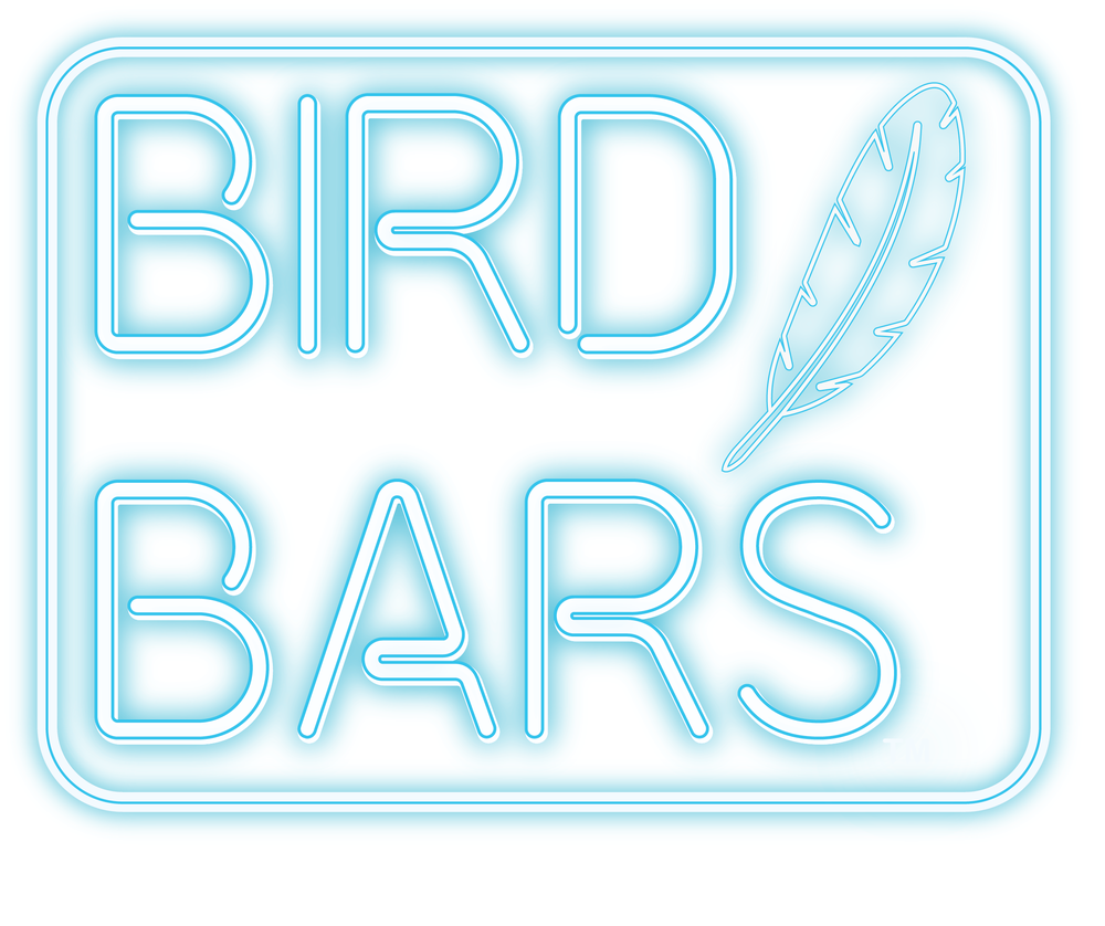 Bird Bars - Custom-made, reclaimed wooden bird