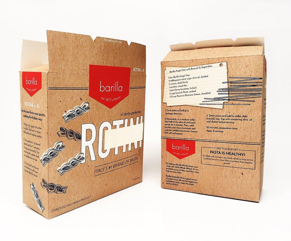 Package Design: Rotini & Angel Hair