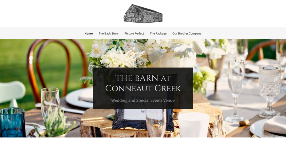 The Barn at Conneaut Creek