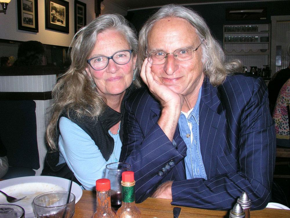 Peter Gabel and partner Lisa Jaicks