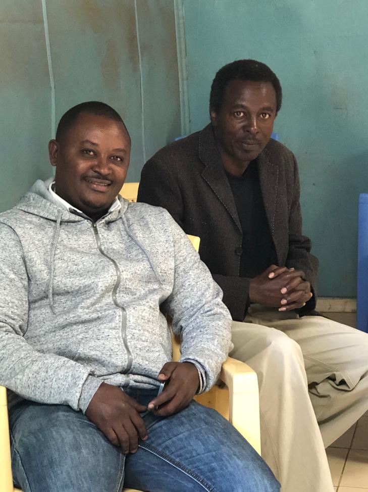 Jimmy Wambua, Hero Expeditions and John Karanja, Soweto Forum