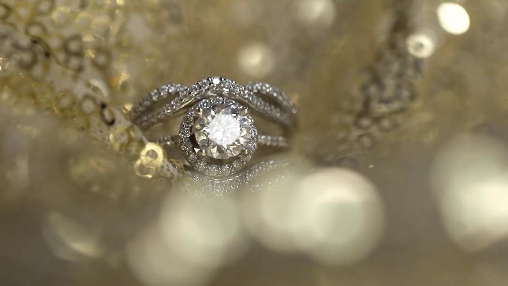 Beautiful Close Up Ring Shot