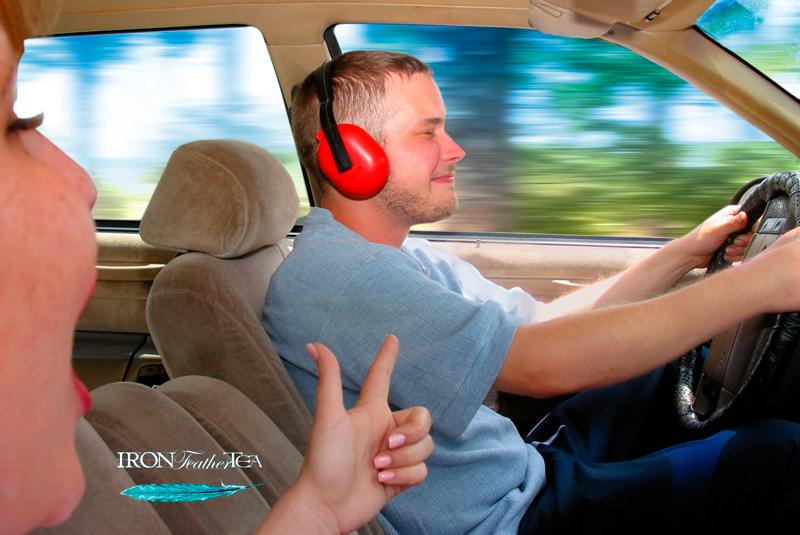 Men's no fuss ear protection.