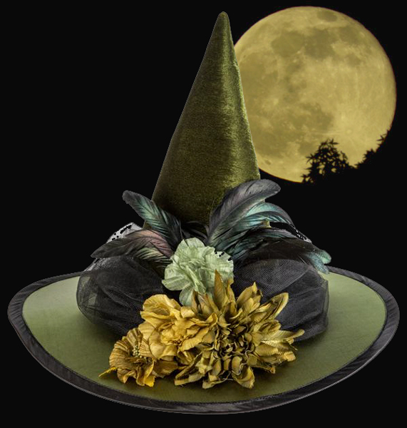Poison Ivy Witch Hat