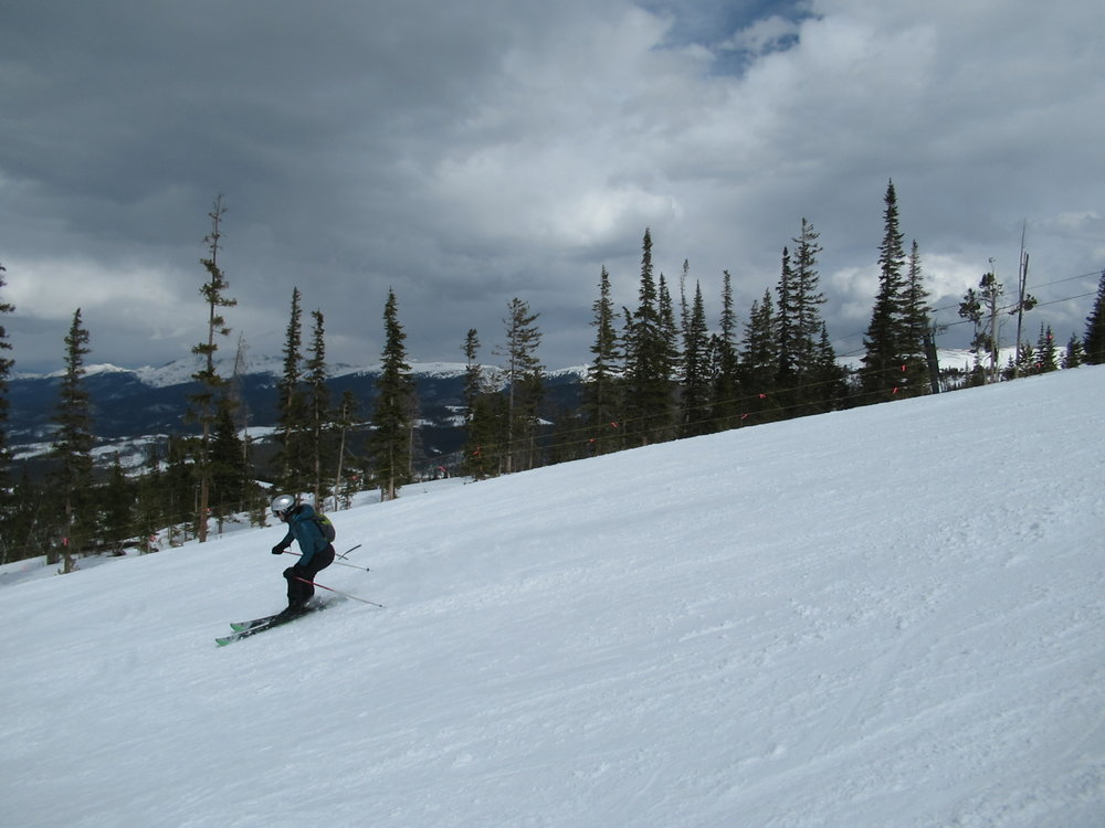 My last day on the slopes of Winter Park. Send it!