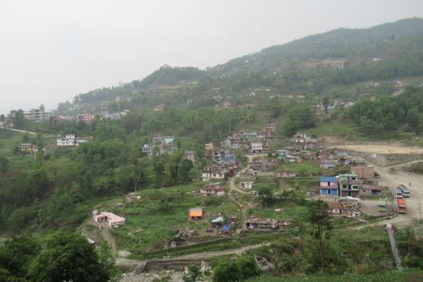 Leaving the village