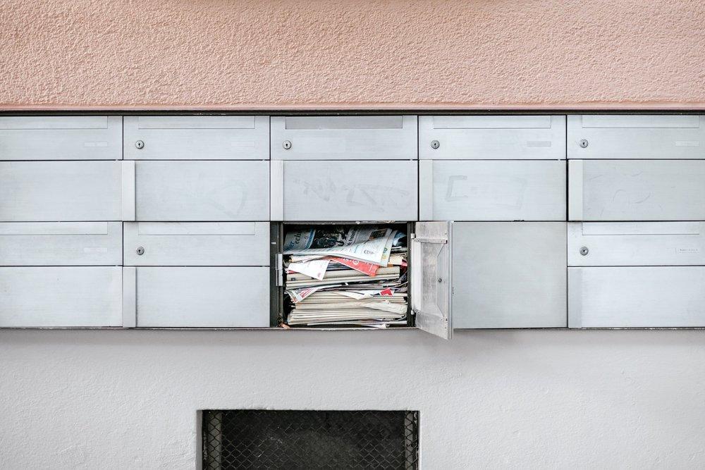 33kg Werbung - wird Dir jedes Jahr in deinen Briefkasten geworfen. 90% davon wandert direkt in den Papierkorb.