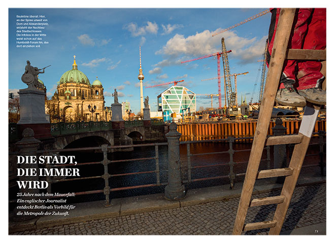 Berlin in National Geographic Germany