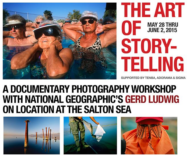 The Art of Storytelling - Salton Sea