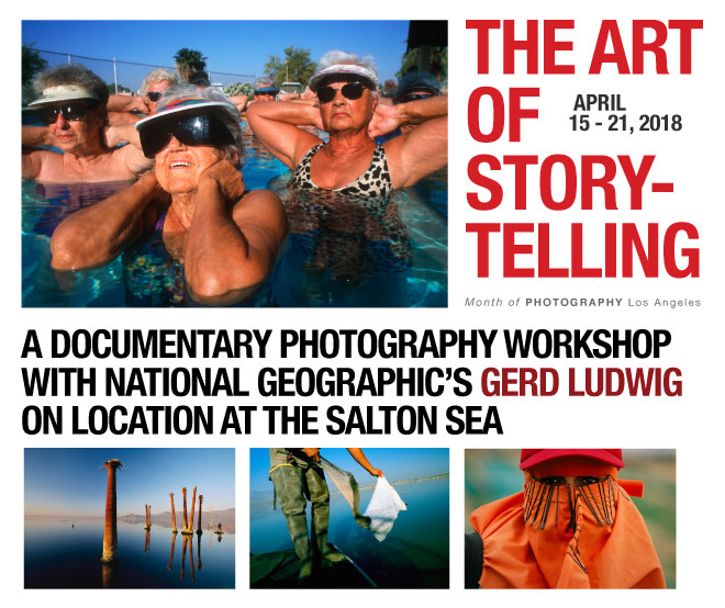 Workshop The Art Of Storytelling The Salton Sea