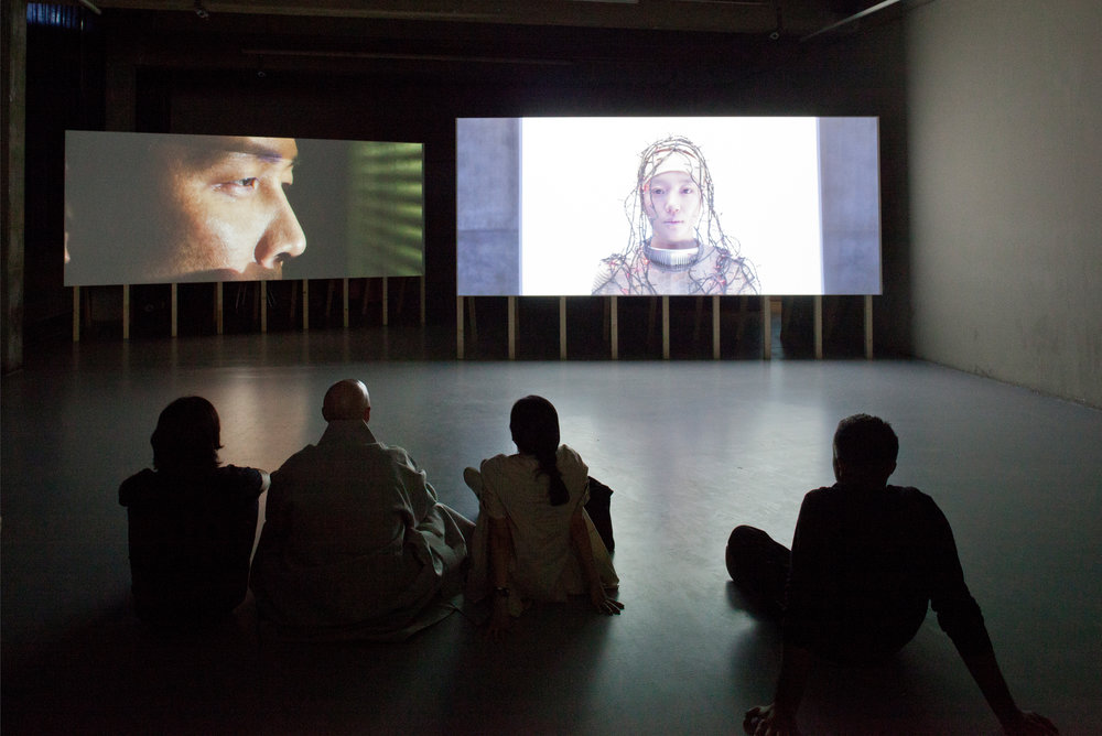 """""""News from Nowhere"""" is a 2-channel HD film by Kyungwon Moon and Joonho Jeon commissioned by dOCUMENTA(13). It imagines a post-apocalyptic world and takes its title and inspiration from William Morris' 1890 book about a futuristic society.  Kassel, Germany"""