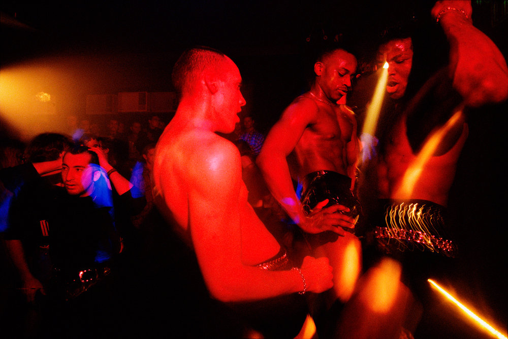 Forced in former times to hide their sexual preferences, gay men can now meet openly at clubs like Moscow's Chance.  Moscow, Russia