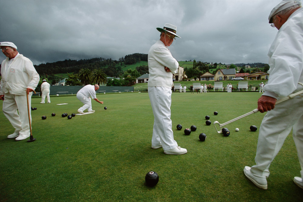 Bowls is one of the most popular sports for the elderly with many towns having clubs and grounds.  Franklin