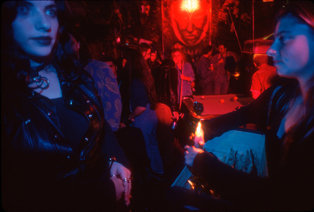 Toronto's nightclubs have names such as the Vampire Sex Bar, the Savage Garden and Death, reflecting the vibrant underground scene.
