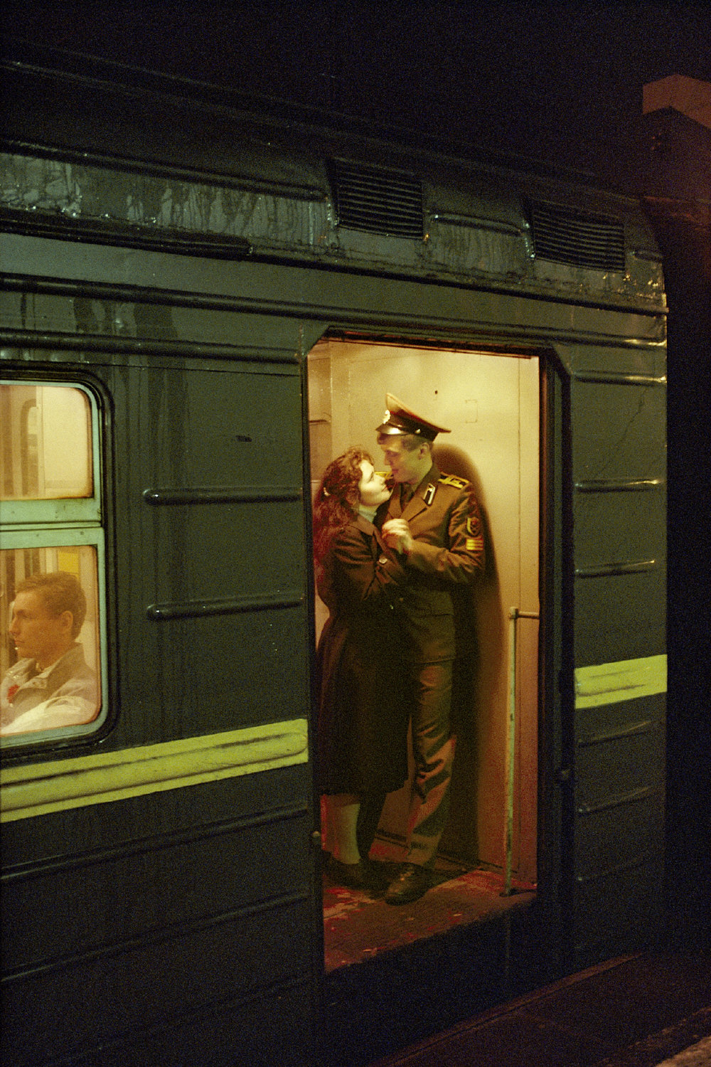 Farewell Kiss, Moscow, Russia 1992
