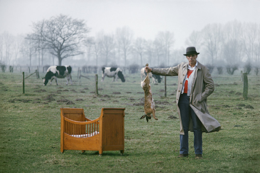 Beuys, Cradle and Hare, near Kleve, Germany 1978