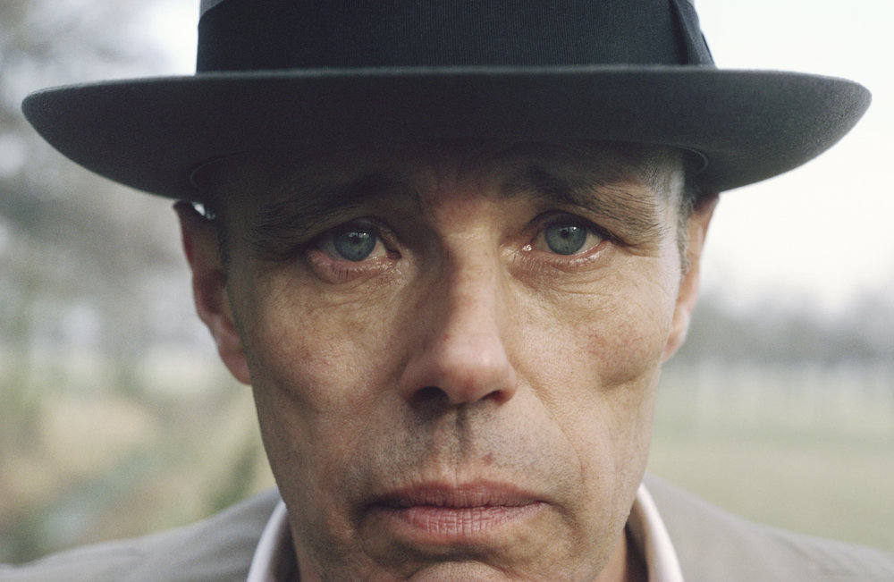 Joseph Beuys, near Kleve, Germany 1978